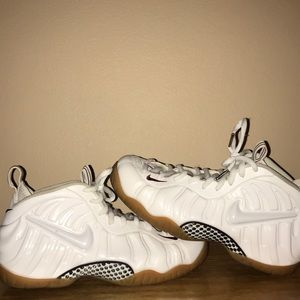 "Air Foamposite Pro ""Winter White/Gucci"" 624041 102"